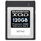 Delkin Devices-Premium XQD Memory Card - 120GB-Memory cards, tape and discs