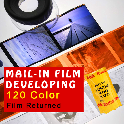 Film Developing - 120 Color C-41 Process