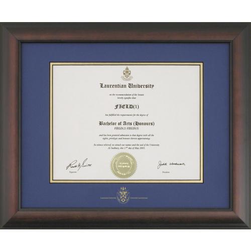 Laurentian University Briarwood Diploma Frame - LAURENTIAN1215BM ...