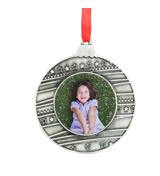 Metal Circle Ornament
