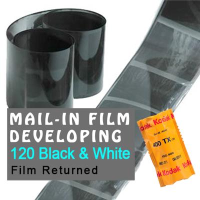 Film Developing - 120 Black & White
