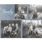 Family Collage Block Mount