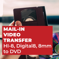 HI-8, Digital8, 8mm to DVD