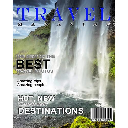 8x10 Travel Magazine Cover