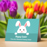 50 x A5 Landscape Easter Character Cards