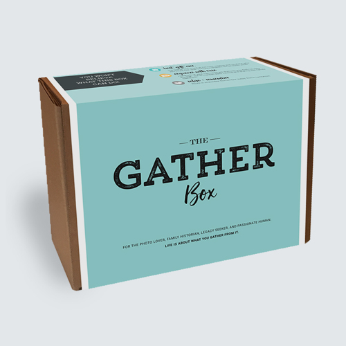 Gather Box Archiving Kit up to 1000 photos