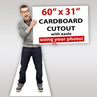 60'x31'' Life-size Cutout
