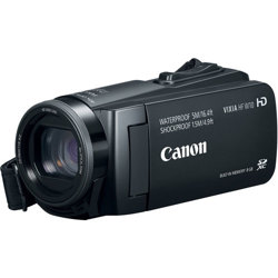 Canon-Vixia HF W10 Waterproof Camcorder-Video Cameras