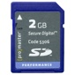 ProMaster-2GB Performance SD #5306-Memory cards, tape and discs