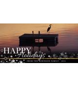 Happy Holidays Stars - A