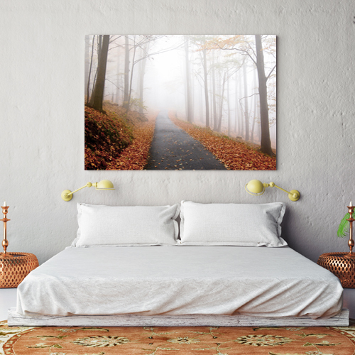 10 x 8 inch Horizontal Canvas Wrap (White Edges)