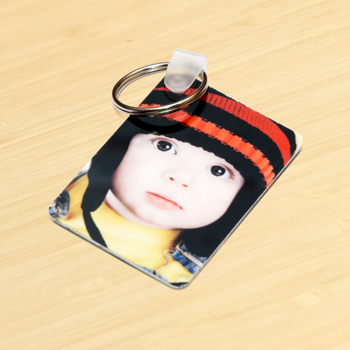 Two Sided Keychain