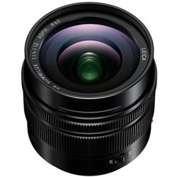 Panasonic-Lumix G Leica DG Summilux 12mm F1.4 ASPH - Black #H-X012-Lenses - SLR & Compact System
