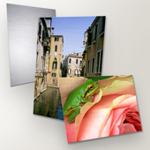 Metal Prints with Mounting Options