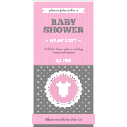 Baby Shower Card J