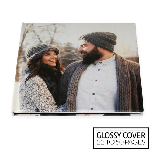 12x12 Classic Image Wrap Hard Cover / Glossy Cover (22-50 pages)