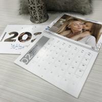 "Calendrier 2021 thématique saisons (8,5""x11"") -Spiralé"