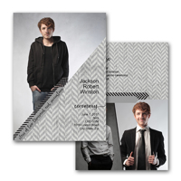 5x7 2 Sided Graduation Card (16-029)