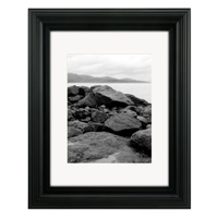 Malden 2043-80 8x10 Matted Black Vertical Gallery Frame
