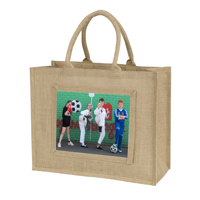 Jute Bag with Photo
