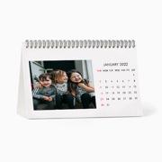 Calendar 9.5x6 Spiral Desk Top - 2022