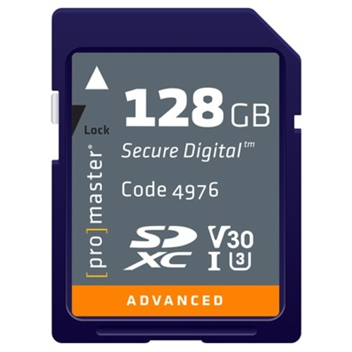 ProMaster-Advanced SDXC 128GB 633X #4976-Memory cards, tape and discs