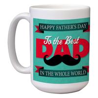 15 oz Ceramic Mug (Dad G)