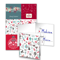 6 Gift Tags Folded - F