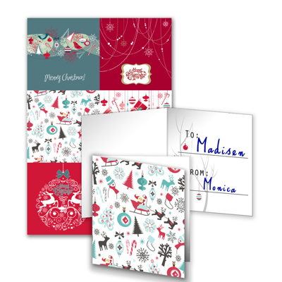6 gift tags folded f gift specifications the photo place