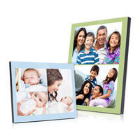 Freestyle Photo Panel w. stand, unlimited photos & text 10x10