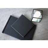 Essence Album - Matte Black Leather Cover