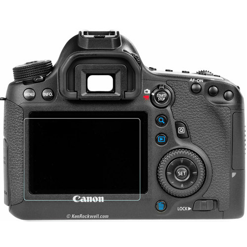 Phantom Glass-Canon 6D Screen Protector-Miscellaneous Camera Accessories