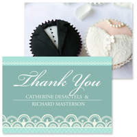 Lace B - 2 Sided Thank You