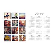 2019 - 12x18 Calendar
