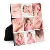 10x10 Easel Print - 9 Photo Collage