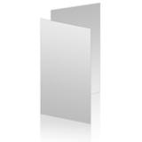 4 x 6 Vertical 2 Sided Flat Card