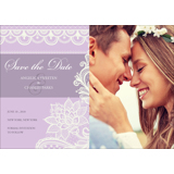 Lace A - 1 Sided Save the Date