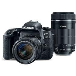 Canon EOS 77D Camera Bundle wi