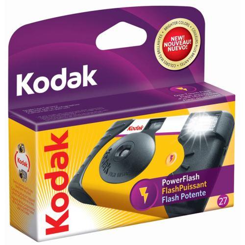 Kodak-Power Flash Single Use Camera-Film Cameras