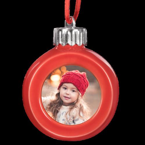 LED Red Globe Ornament