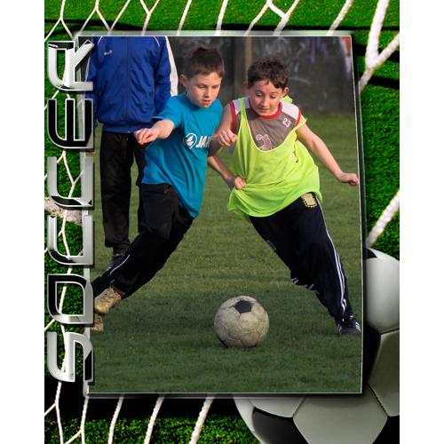 16 x 20 Soccer Poster