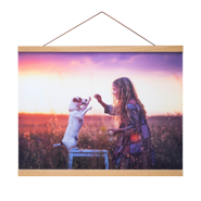 16x20 Canvas Poster with Poster Hanger