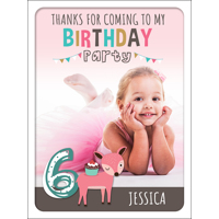B-Day Friends 6 Poster 450x600mm