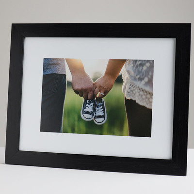 330x250mm Print in a 30mm Black Frame with a 150x225mm image (50mm white space on all sides)