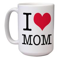 15 oz Ceramic Mom Mug (D)
