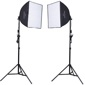 "ProMaster-2 Light AC Softbox Kit - 20"" x 20"" #1984-Studio Lighting Kits"