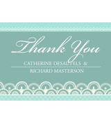 Lace B - 1 Sided Thank You
