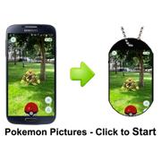 Pokemon Souvenir Pendants