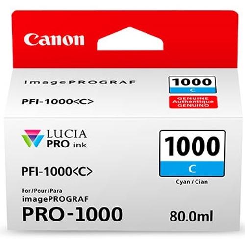 Canon-PFI-1000 Cyan Ink Tank-Ink Cartridges