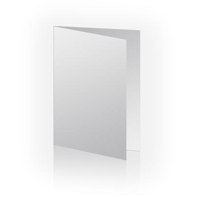 5x7 Folded Vertical Blank card, single image